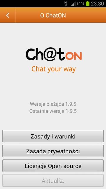 ChatON 1.9.5