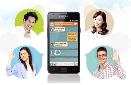 ChatON [źródło: Samsung]
