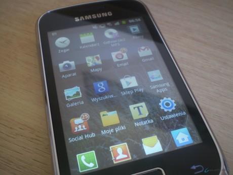Samsung Galaxy Mini 2 - Menu
