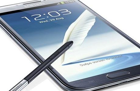 Samsung Galaxy Note II [źródło: Samsung]