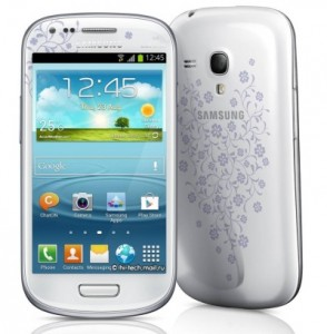 Samsung Galaxy S III mini La Fleur [źródło: SamMobile]