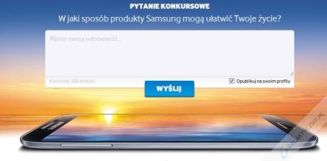 Wygraj Galaxy S4 - Pytanie konkursowe [źródło: facebook.com/SamsungPolska]