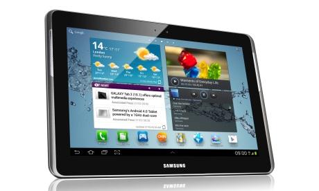 Samsung Galaxy Tab 2 10.1 w kolorze czarnym [źródło: Samsung]