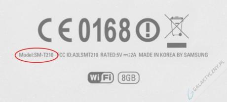 Samsung Galaxy Tab 3 SM-T210 [źródło: galaktyczny.pl]