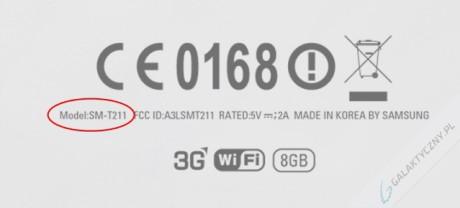 Samsung Galaxy Tab 3 7.0 SM-T211 [źródło: galaktyczny.pl]