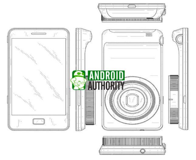 Patent dotyczący nowego aparatu - Galaxy Zoom (źródło: SamMobile)