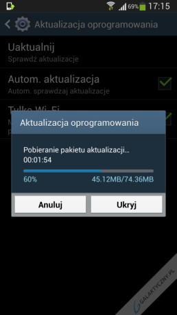 Samsung Galaxy S 4 - Aktualizacja oprogramowania [źródło: galaktyczny.pl]