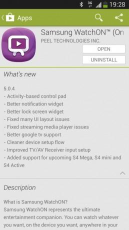 Samsung Galaxy S4 Mega w Google Play [źródło: SamMobile]