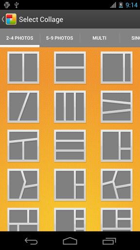 KD Collage Pro [źródło: Google Play]