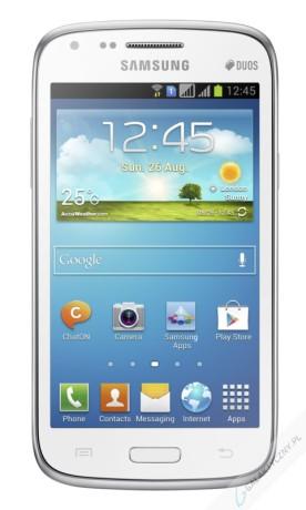 Samsung Galaxy Core Duos w kolorze białym [źródło: Samsung]