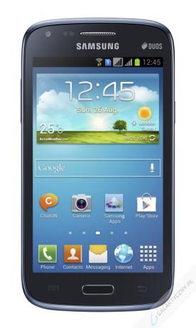 Samsung Galaxy Core Duos w kolorze granatowym [źródło: Samsung]