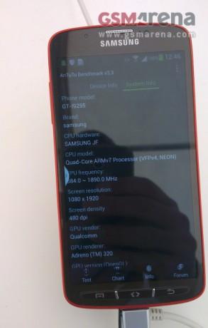 Samsung Galaxy S 4 Activ [źródło: GSMArena]