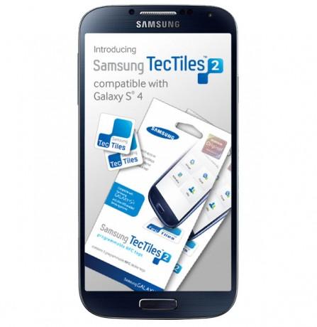 Samsung Galaxy S 4 - tagi TecTiles 2 [źródło: Samsung]