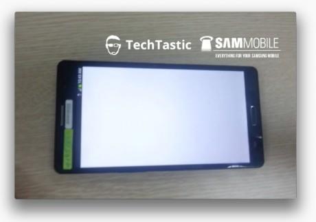 Prototyp Samsunga Galaxy Note III [źródło: SamMobile]
