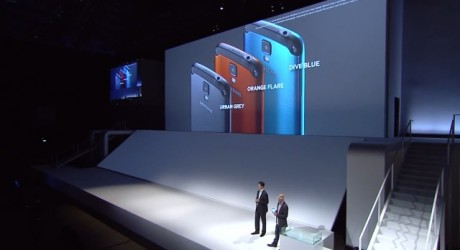 Samsung Galaxy S 4 Active - kolory [źródło: Samsung Mobile]