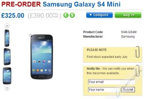 Samsung Galaxy S 4 mini [źródło: Clove]