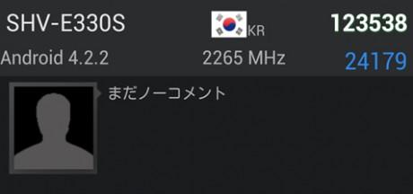 Samsung Galaxy S 4 SHV-E330S [źródło: SamMobile]