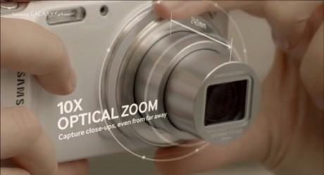 Samsung Galaxy S 4 zoom - 10-krotny zoom optyczny [źródło: Samsung]