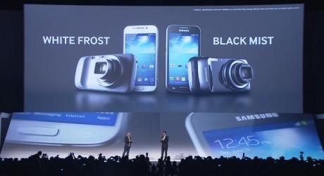 Samsung Galaxy S 4 zoom - kolory [źródło: Samsung Mobile]