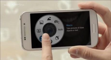 Samsung Galaxy S 4 zoom - Quick Launch [źródło: Samsung]