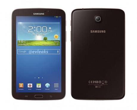 Samsung Galaxy Tab 3 7.0 w kolorze Gold Brown [źródło: SamMobile]