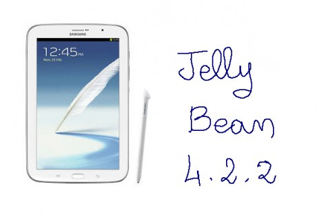 Galaxy Note 8.0 Android 4.2.2 Jelly Bean