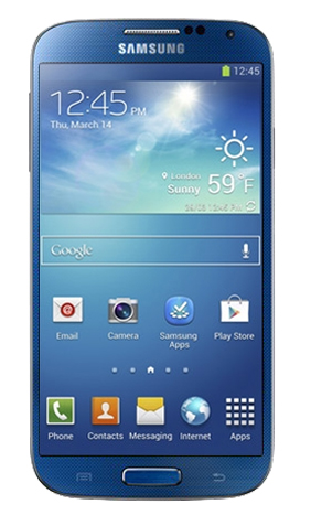 Samsung Galaxy S 4 mini w kolorze niebieskim [źródło: SamMobile]