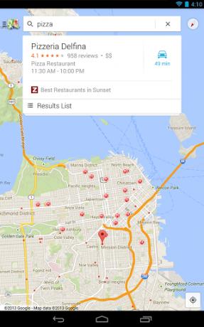 Google Maps 7.0 [źródło: Google]