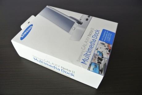 Stacja multimedialna dla Galaxy Note II - opakowanie [źródło: galaktyczny.pl]