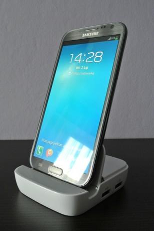 Stacja multimedialna dla Galaxy Note II [źródło: galaktyczny.pl]