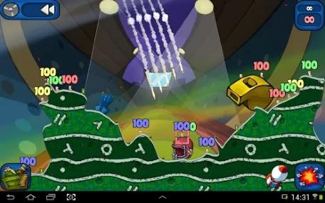 Worms 2: Armageddon [źródło: Google Play]