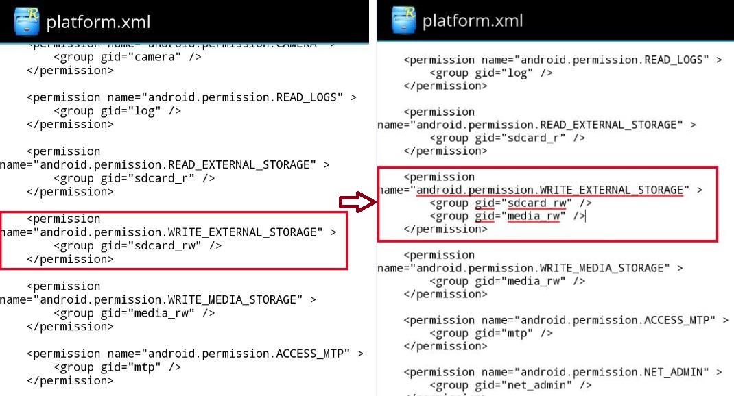 Rozwiązanie problemu z zapisywaniem danych na karcię pamięci w Galaxy S 4 GE [źródło: SamMobile]