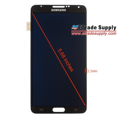 Przedni panel Galaxy Note III [źródło: eTrade Supply]