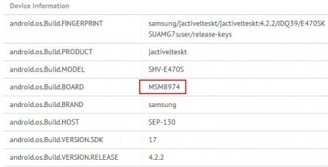 MSM8973 w Galaxy S 4 Active [źródło: GFXBench]