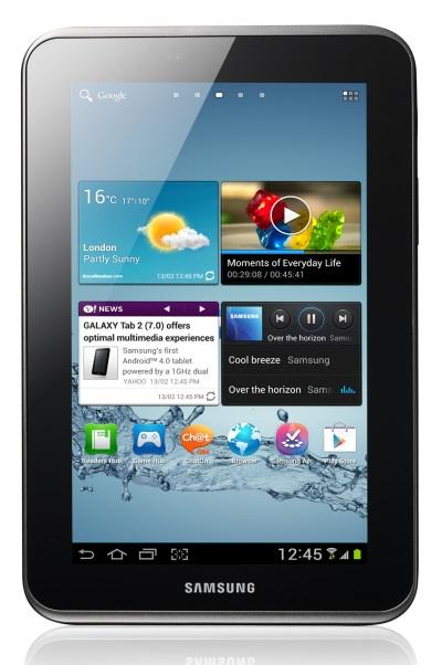 Samsung Galaxy Tab 2 7.0 [źródło: Samsung]