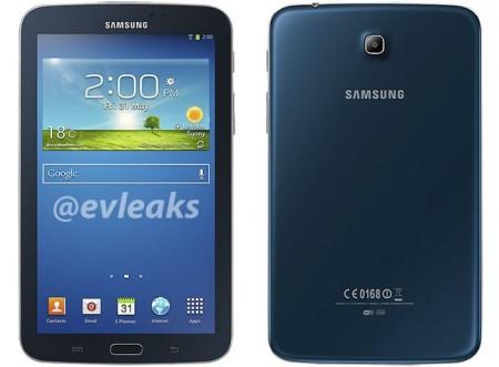 Samsung Galaxy Tab 3 7.0 w kolorze niebieskim [źródło: evlekas]