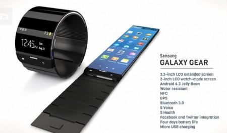 Samsung Galaxy Gear - projekt koncepcyjny [źródło: T3]