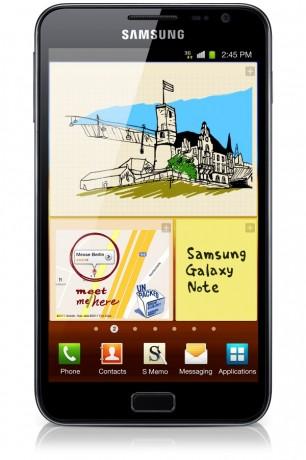 Samsung Galaxy Note [źródło: Samsung]