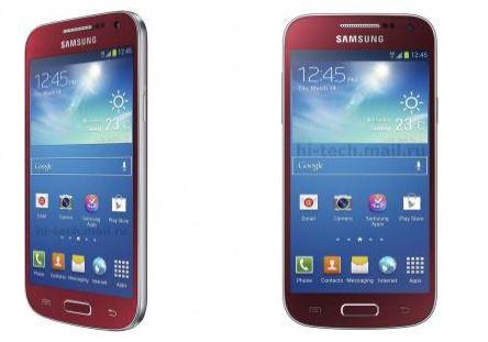 Samsung Galaxy S 4 mini Scarlet Dawn [źródło: SamMobile]