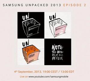 Samsung Mobile Unpacked 2013 Episode 2 [źródło: Samsung]