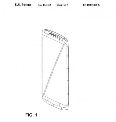 U.S. Patent FIG. 1 [źródło: SamMobile]