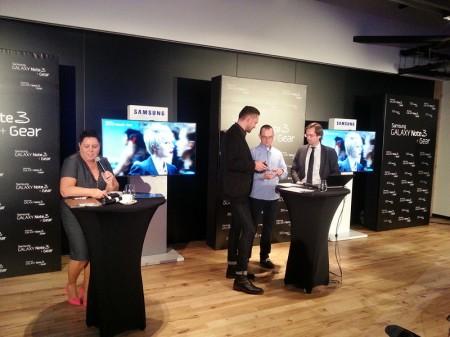 Konkurs na premierze Galaxy Note 3 i Galaxy Gear [źródło: galaktyczny.pl]
