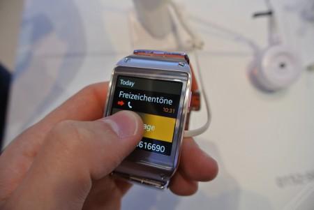 Samsung Galaxy Gear - wiadomość  [źródło: galaktyczny.pl]