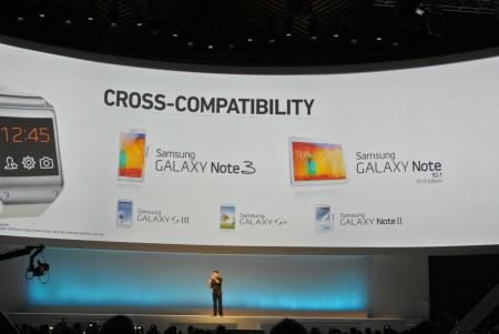 Samsung Galaxy Gear - kompatybilność [źródło: galaktyczny.pl]