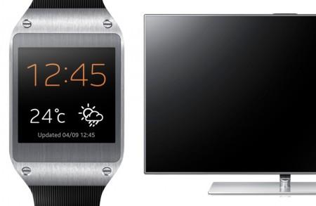 Galaxy Gear i Samsung F7000 [źródło: Samsung]