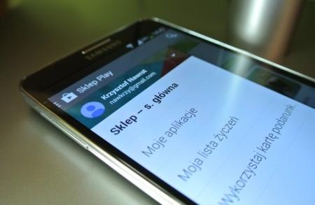 Galaxy Note 3 - Google Play 4.4.21 [źródło: galaktyczny.pl]