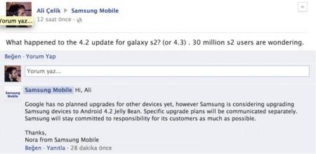 Samsung Galaxy S II - Android 4.2 Jelly Bean [źródło: SamMobile]