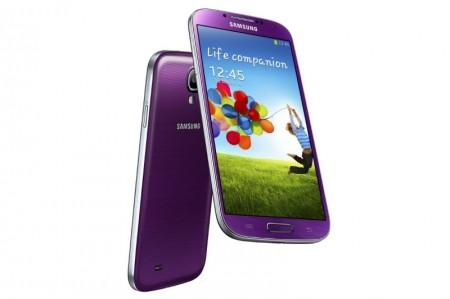Samsung Galaxy S 4 w kolorze purpurowym [źródło: Samsung]