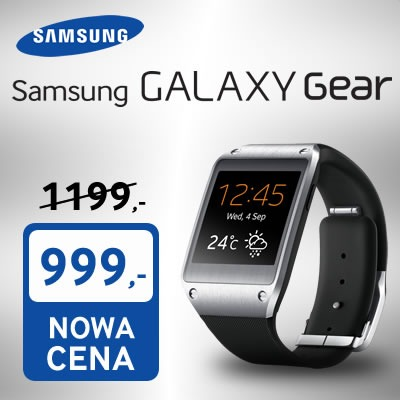 Samsung Galaxy Gear za 999 złotych [źródło: Sferis]