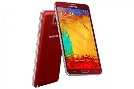 Samsung Galaxy Note 3 - czerwony [źródło: Samsung]